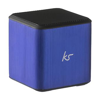 KITSOUND Speaker Cube Blue 3.5 mm connection
