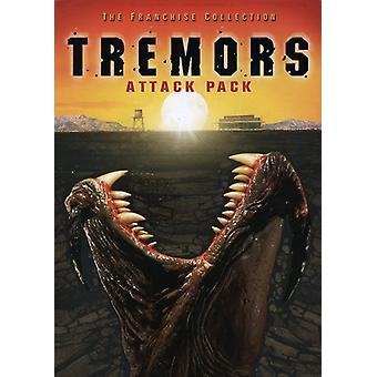 Tremors Attack Pack [DVD] USA import