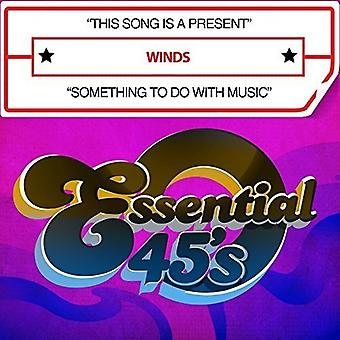 Winds - This Song Is Present / Something to Do with Music USA import
