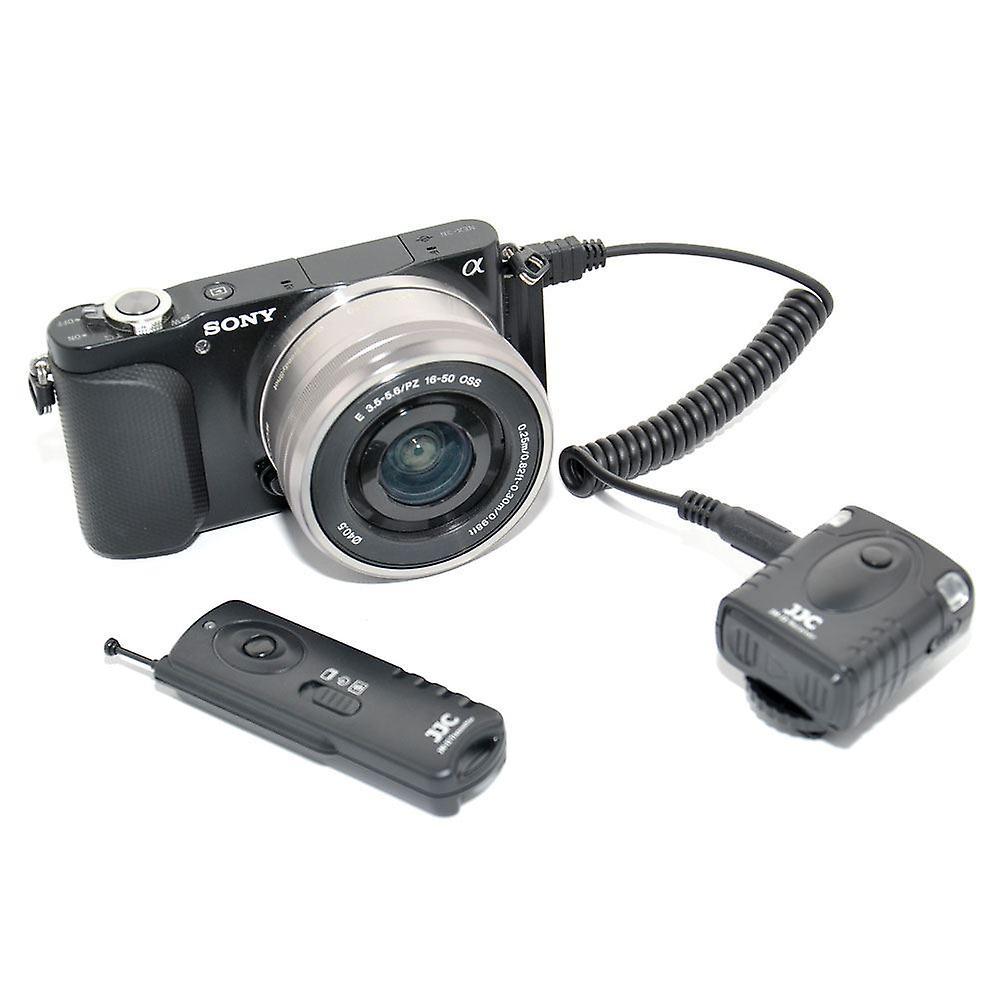 JJC JM-F2 II Wireless 30m Fernschalter für Sony-Kameras mit Multi-Anschluss (siehe Beschreibung für Kompatibilität)