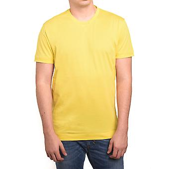 Z Zegna by Ermenegildo Zegna Men Double Collar T-Shirt Yellow