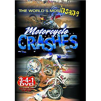 Verdens mest vanvittige motorcykel krak [DVD] USA importerer