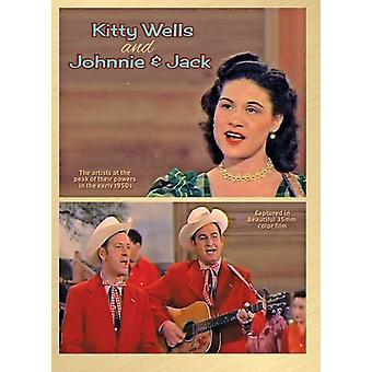 Kitty Wells & Johnnie & Jack [DVD] USA import