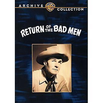 Return of the Bad Men [DVD] USA import