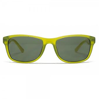 Lacoste Kids Childrens Wayfarer Sunglasses In Green & Yellow