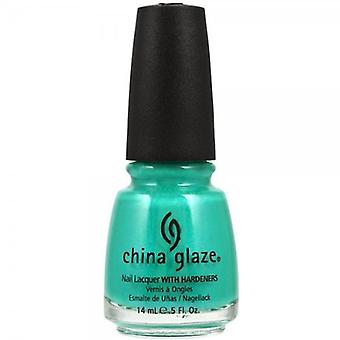 China Glaze Cina smalto smalto – alzato turchese