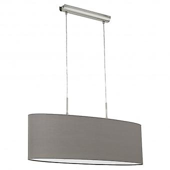 Eglo PASTERI Anthracite Brown Ceiling Light Pendant