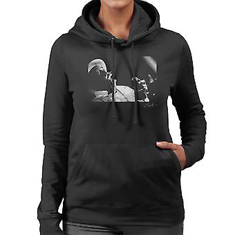 Lee Scratch Perry Performing At Dingwalls London 1980s Women's Hooded Sweatshirt