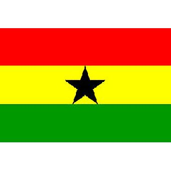 Ghana Flag 5ft x 3ft With Eyelets For Hanging
