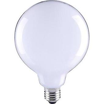 LED E27 Globe 6 W = 55 W Warm white (Ø x L) 80 mm x 115 mm EEC: A++ Sygonix Filament 1 pc(s)