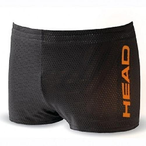 Testa Unisex Double Power reversibile Drag Shorts - nero/arancio