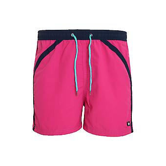 Bruno banani Boxer tube Ride swim shorts mens Swimshorts pink 2201-1539/1943