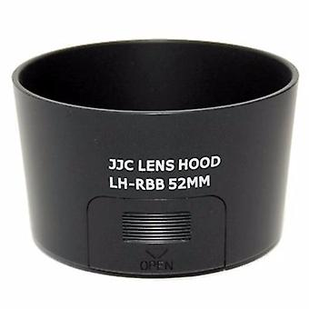JJC ersättning Pentax PH-RBB 52mm lins Hood för smc PENTAX-DA L 50-200mm f/4-5.6 ED
