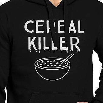 Cereal Killer Funny Graphic Hoodies Black Halloween Horror Nights