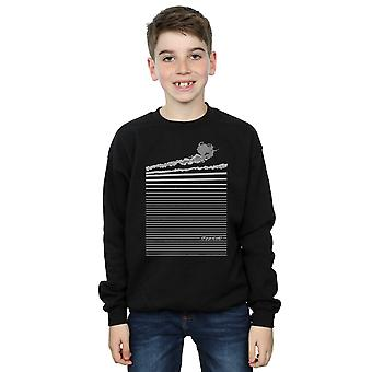 Wizard of Oz Boys Wicked Witch Flying Sweatshirt