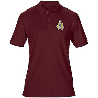 The Royal Gibralter Regiment Embroidered Logo - Official British Army Mens Polo Shirt