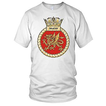 Royal Navy HMS Dragon Kids T Shirt
