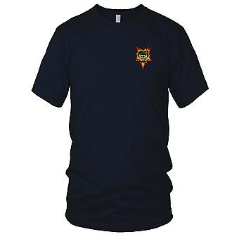 MACV-SOG Special Forces Group Tam Ky - Vietnam War Unit Insignia Embroidered Patch - Mens T Shirt