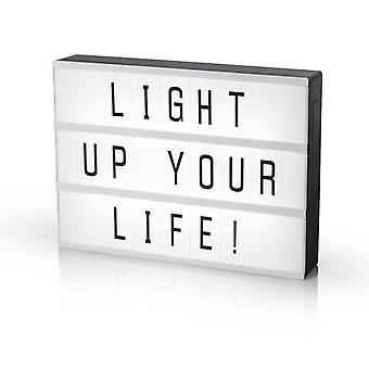 Smartware LED Light box A4 with 85 characters