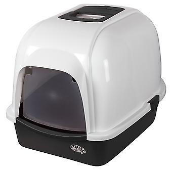 Pet Brands Oval Cat Litter Tray With Hood