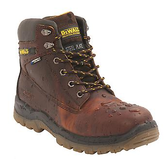 Dewalt Greasy Leather Waterproof Safety Hiker Boot. S3 SRA - Titanium