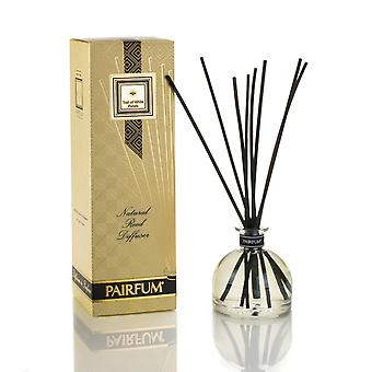 Large & Natural Reed Diffuser - Long-lasting & Healthy - Beautiful Perfumes that Compliment You - Fragrances for 6 - 9 months (250 ml) - by PAIRFUM - Perfume: Trail of White Petals - with Black Reeds