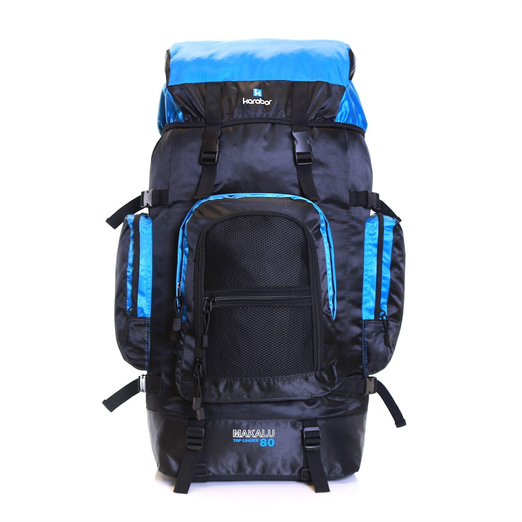 Karabar Makalu 80 Litres Travel Backpack, Sky Blue