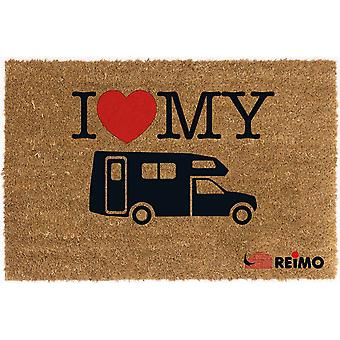 Reimo I Love My Campervan Coconut Doormat