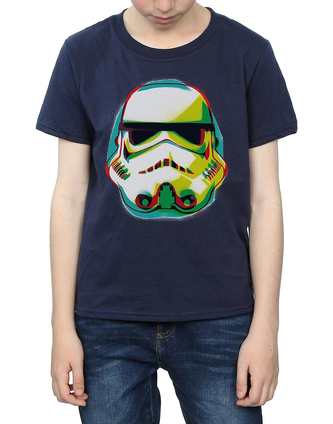 Star Wars Boys Stormtrooper Command Grafitti T-Shirt