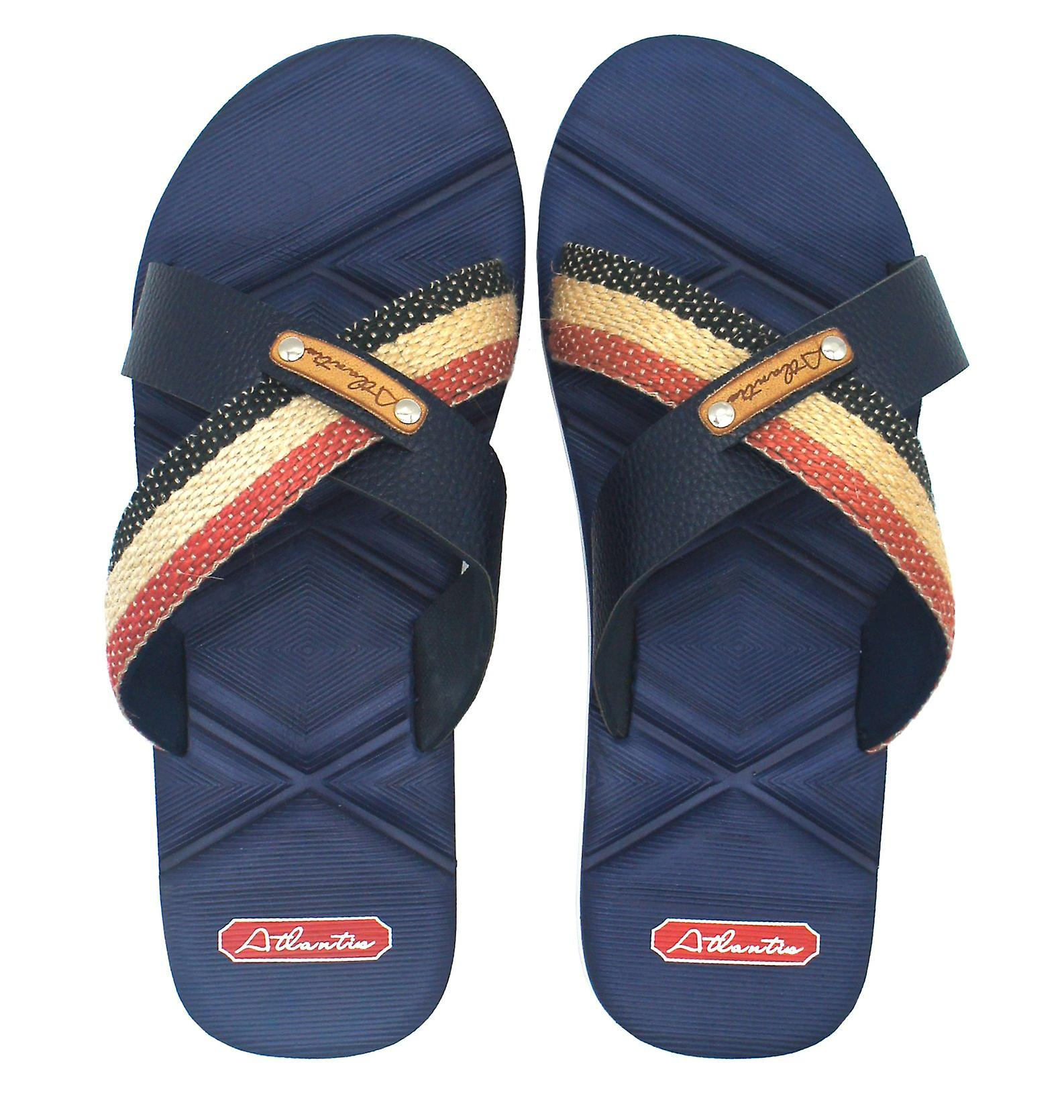 Sandals Men Cushioned Shoes X Supportive Navy Atlantis Comfortable Series w4HTqXx