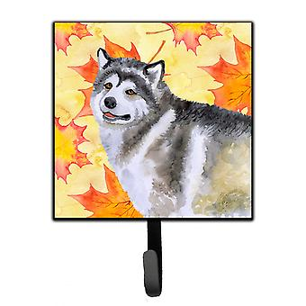 Carolines Treasures  BB9899SH4 Alaskan Malamute Fall Leash or Key Holder
