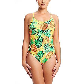 ZOGGS Women Pina Colada Starback Swimsuit - Multi