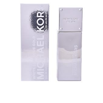 Michael Kors White Luminous Gold Eau De Parfume Vapo 50ml Womens New Spray
