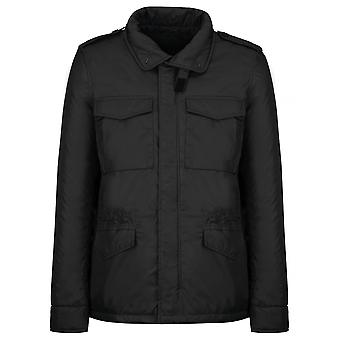 Aspesi men's 2I17753269241 black polyester jacket
