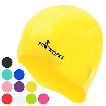 ProWorks Swimming Cap - Yellow