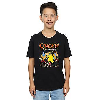 Koningin jongens A soort magische T-Shirt