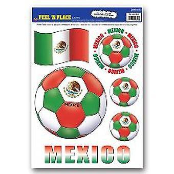 Mexiko-Peel ' n ' entfernbaren Sticker platzieren