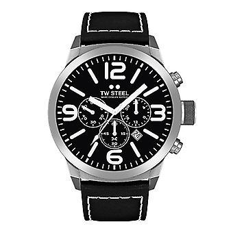 Montre Chrono Marc Coblen édition TWMC33 montre cuir bracelet TW steel hommes