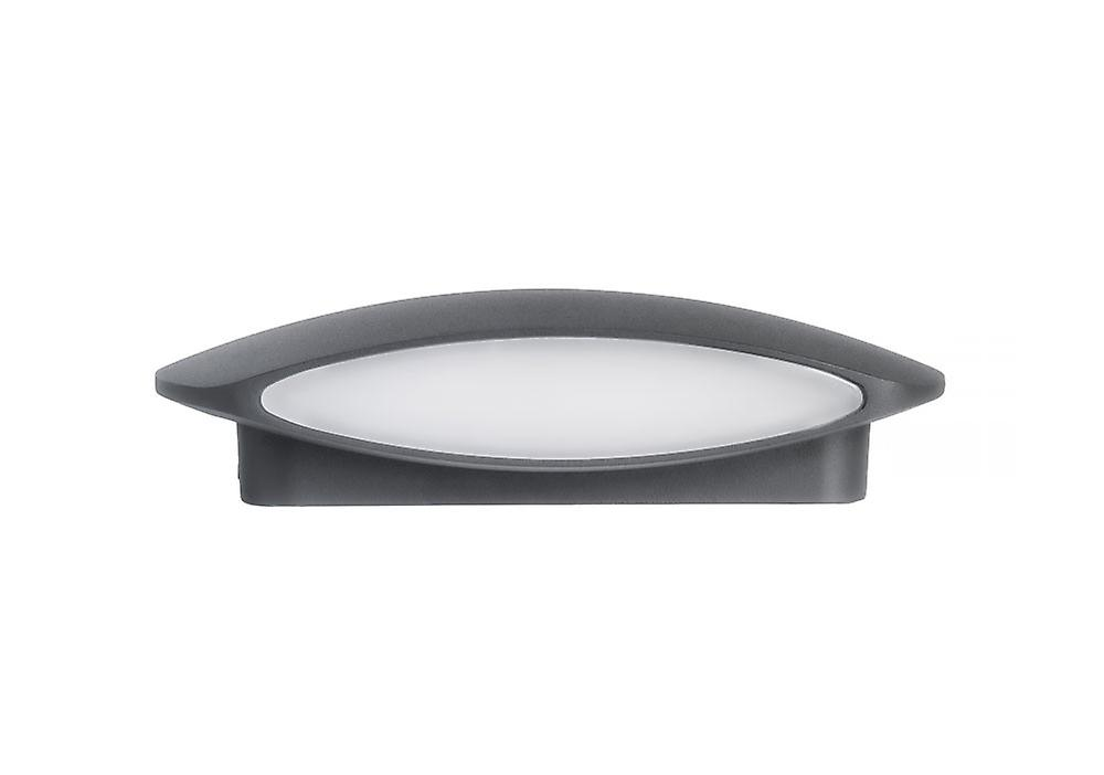 UpDown LED Wall lamp of Nojus L dark grey IP54, 2 x 6 W, 3000 K 10658