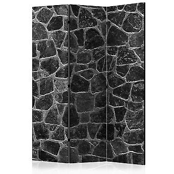 Room Divider - zwarte stenen [Room Dividers]