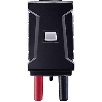 Test lead adapter Mini T socket - 4 mm plug Scoop-proof testo 0590 0021 Black