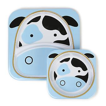 Nikidom Zoo Sets Cow (Childhood , Mealtime , Children's Tableware)