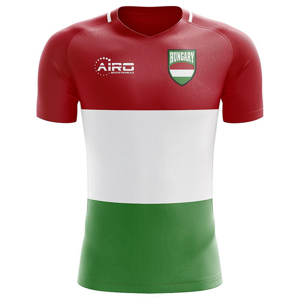 2018-2019 Hungary Home Concept Football Shirt
