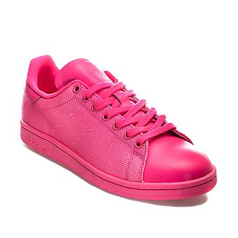 adidas Originals Stan Smith Trainers In Solar Pink