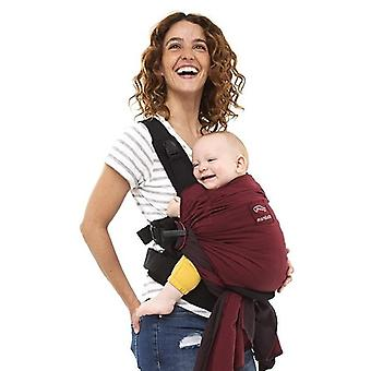 Manduca Fular Portabebés Duo Rojo (Childhood , Baby Clothes  , Baby Carrier)