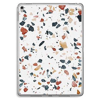 iPad Pro 9,7 inch Transparent Case (Soft) - Terrazzo N°4