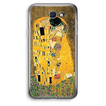 Samsung Galaxy J5 Prime (2017) Transparent Case (Soft) - Der Kuss