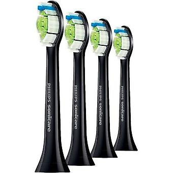Sonicare Diamond Clean Heads Black Standard 4 pcs