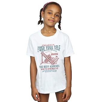 Drewbacca Girls Push Yourself T-Shirt