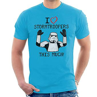 Originele Stormtrooper I Love This Troopers veel mannen T-Shirt